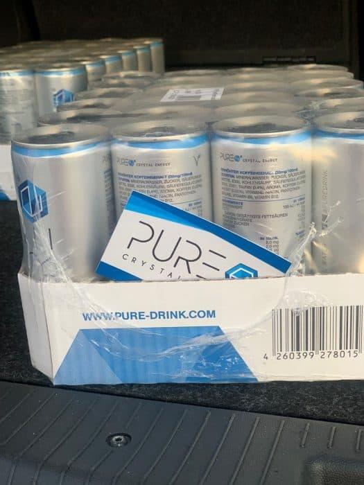 PURE Energy Drink - Albanien