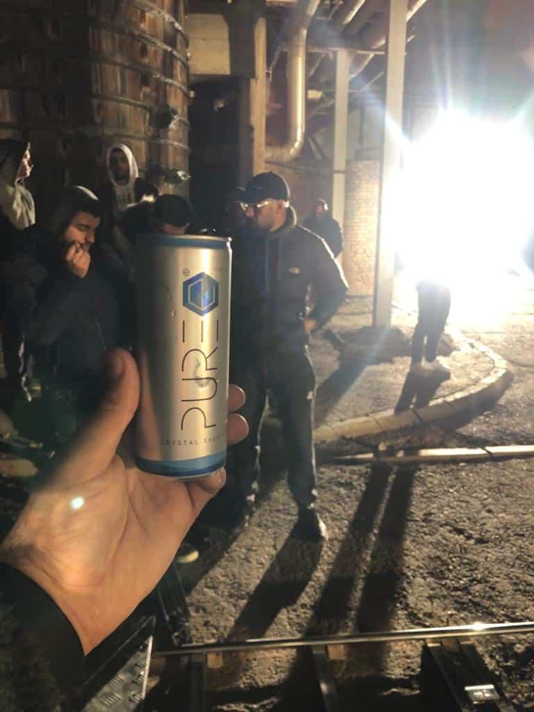 PURE Energy Drink - Dreharbeiten - Gin Tely Musikvideo Albanien