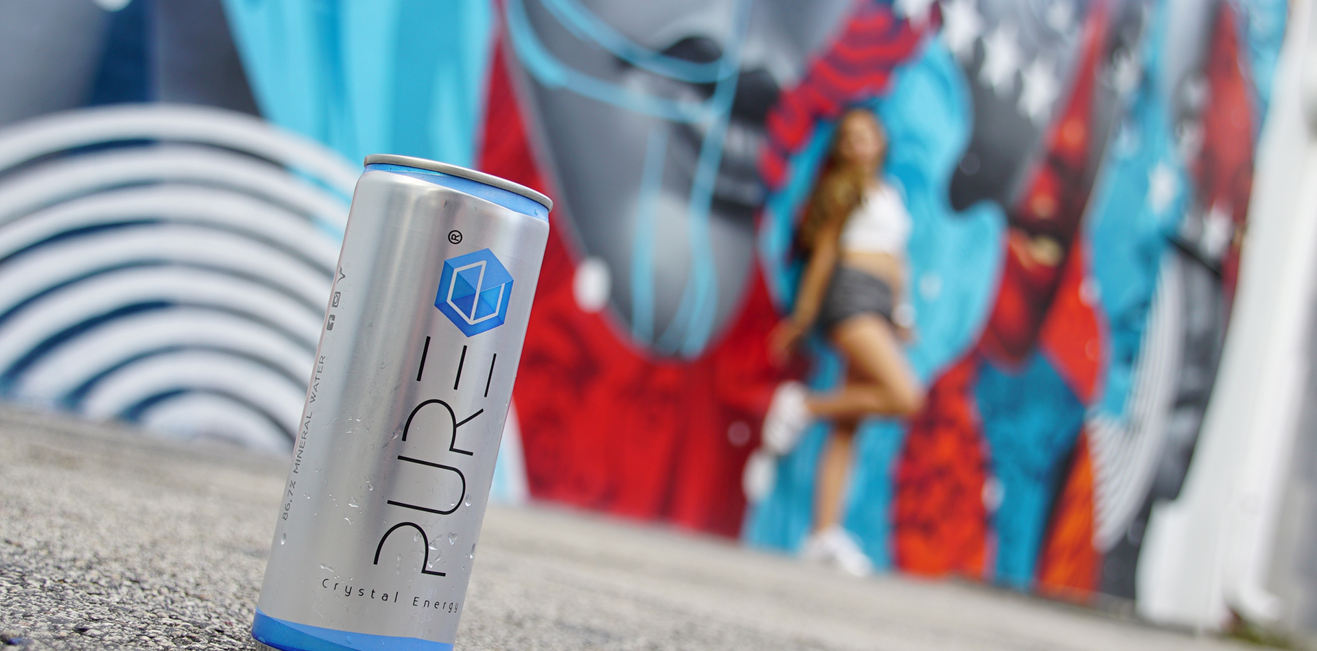 The Crystal Clear Energy Drink