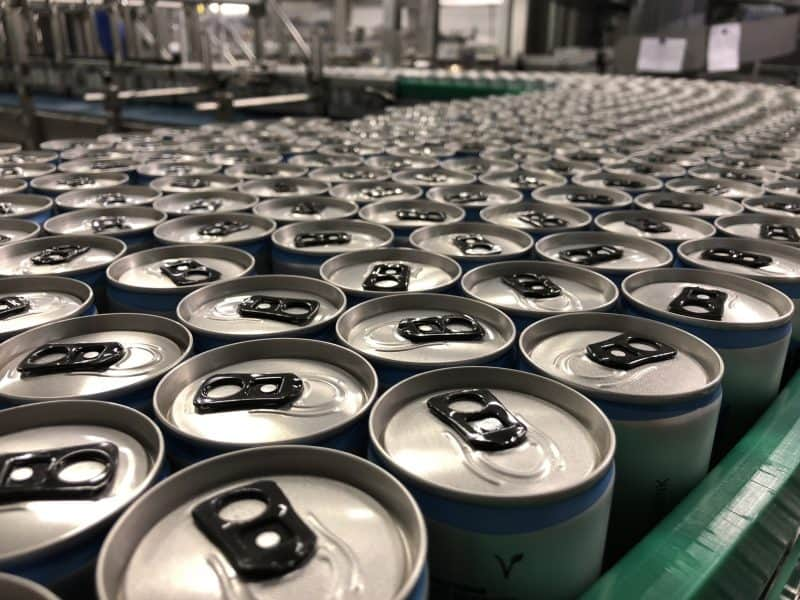 PURE Energy Drink Produktion