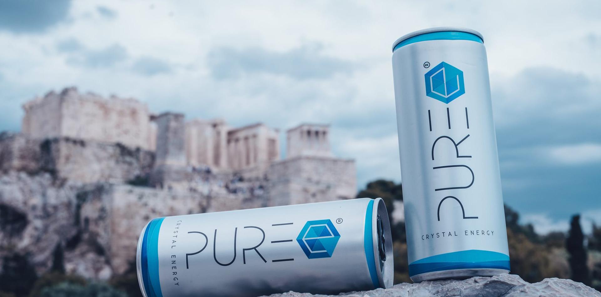 ΕΙΜΑΣΤΕ ΤΟ PURE ENERGY DRINK