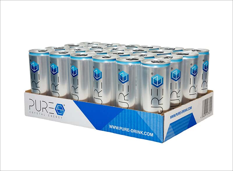 PURE Energy Tray / 24x 250ml