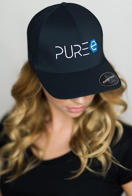 PURE Energy Drink - Cap - schwarz