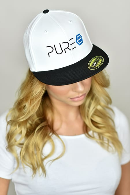 PURE Energy Drink - Cap - weiss