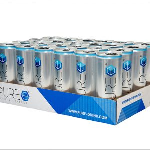 PURE Energy Drink - 24er Tray