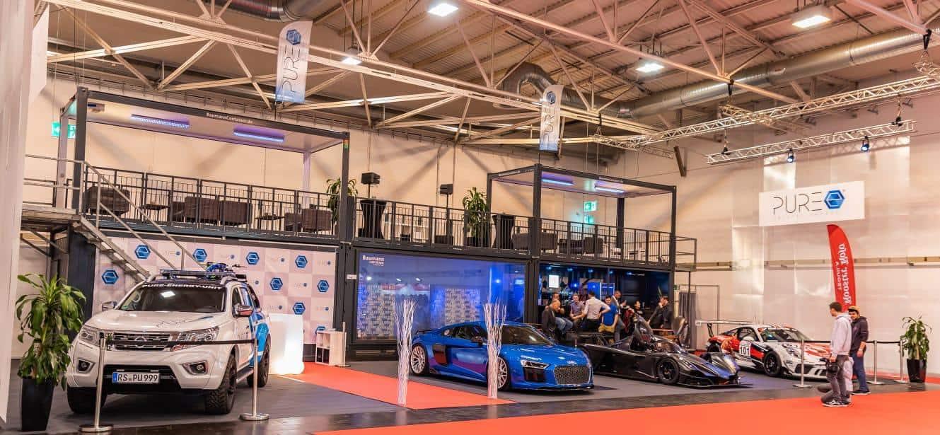 PURE Energy Drink - Essen Motorshow 2018