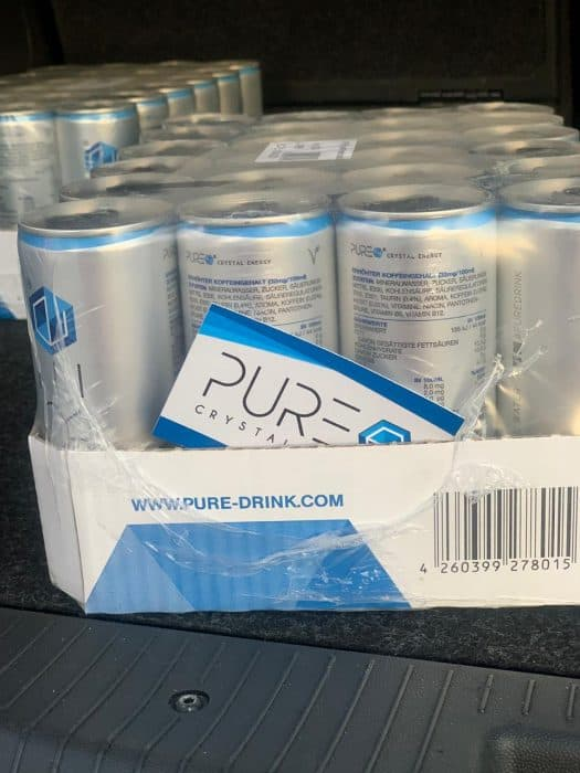 PURE Energy Drink - Albanien